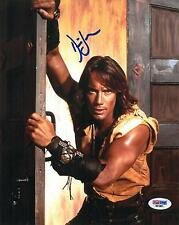 Kevin Sorbo Signed Hercules Authentic Autographed 8x10 Photo (PSA/DNA) #D31891