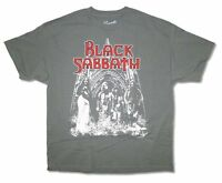 Black Sabbath US Tour 1975 Band Pic Reissue Grey T Shirt New Official
