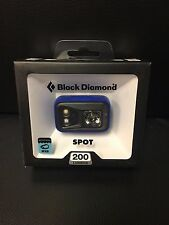 Black Diamond Spot 200 Lumens Headlamp Powell Blue Waterproof IPX8 New 2016