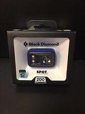 Black Diamond Spot 200 Lumens Headlamp Powell Blue Waterproof IPX8 New 2016