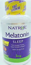 Natrol MELATONIN 3 mg - 150 Fast Dissolve Strawberry Tablets - Sleep Aid