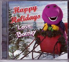 HAPPY HOLIDAYS From BARNEY CD Classic Great Children SLEIGH RIDE HEY SANTA