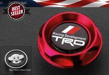 Push Fit Type CNC TRD Red Engine Oil Filler Cap Cover For LEXUS SCION TOYOTA