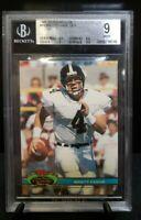 1991 Topps Stadium Club Brett Favre #94 Beckett 9 MINT Green Bay Packers
