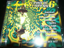 Cental Energy 8 Various 2 Cd Ft Nick Skitz SM Trax 3 Drives On A Vinyl Camisra &