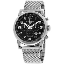 Wittnauer Black Dial Stainless Steel Men's Watch WN3070