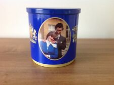 PRINCESS DIANA - HUNTLEY & PALMER CHARLES & DIANA BISCUIT TIN - RARE VINTAGE