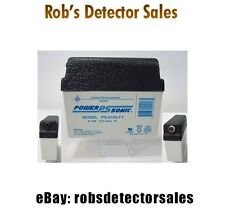 Doc's Replacement Minelab 6v 12ah Dome Top Battery for Minelab SD & GP series