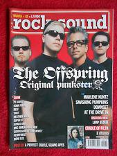 rivista ROCK SOUND 31/2000 POSTER A Perfect Circle Offspring Marlene Kuntz No cd