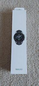 Samsung Galaxy Watch 3 45MM, GPS, Bluetooth, LTE (Unlocked) - Mystic Silver