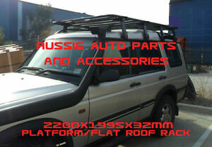 Alloy Platform Flat Roof Rack 2200x1350mm 4  Land Rover Discovery 1 Discovery 2