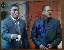 Tracy Morgan & Martin Lawrence Dual Signed 8x10 Photo Death At A Funeral Comedy