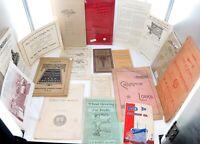 .AMERICANA JOB LOT 1800s / EARLY 1900s EPHEMERA, BOOKLETS ETC. GOOD RESALE $s #3