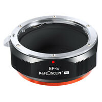 K&F Concept adapter Pro for Canon EOS EF mount lens to Sony E mount a6000 A73