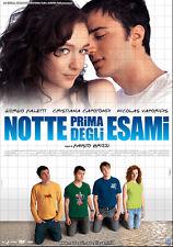 DVD • Notte Prima degli Esami FALETTI CAPOTONDI BRIZZI ITALIANO