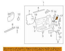 Pontiac GM OEM 04-08 Grand Prix Front Door-Window Switch 10438813