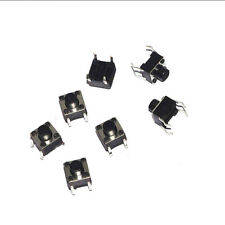 100x Tactile Push Button Switch Tact micro switch 6 * 6 * 6 mm 4-pin DIP ON/OFF