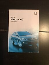 2008 Mazda CX-7 Cx7 Owners Manual OEM Free Shipping