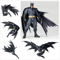 Kaiyodo Revoltech Amazing Yamaguchi Batman Action Figure Toy Removable Model New