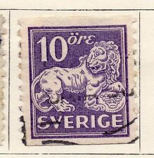 Sweden 1920-25 Early Issue Fine Used 10ore.  118390