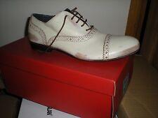 MOMA Formal de cuero blanco Zapatos Talla 40 EU