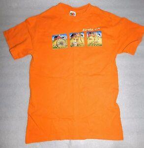 Fruit Loom T-Shirt Orange Eureka California Farm Scenes Weathervane CA Adult S
