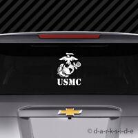 Large USMC EGA Sticker Vinyl marines marine corps earth globe anchor