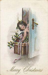 CHRISTMAS – Angel At the Door - 1909