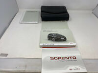 2019 Kia Sorento Owners Manual Handbook Set with Case OEM Z0A1696