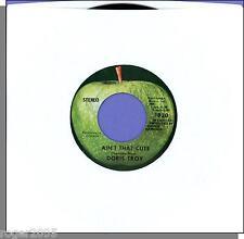 "Doris Troy - Ain't That Cute + Vaya Con Dios - 7"" 45 RPM Apple Single!"