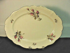 ROSENTHAL MOSS ROSE (POMPADOUR SHAPE) 2 PLATTERS, ROUND VEGETABLE, SOUP $220VALL