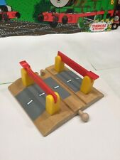 brio wooden train accessories Railroad Crossing