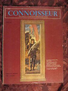 THE CONNOISSEUR Magazine June 1958 Woburn Abbey Norwich Museum Bath Festival