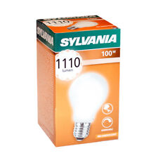 Sylvania Lampadina 100W E27 opaco ANTIURTO DA 100 watt Lampadine DIMMERABILE