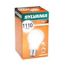 Sylvania Glühbirne 100W E27 MATT Stoßfest 100 Watt Glühlampe Glühbirnen dimmbar