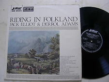 JACK ELLIOT & DERROL ADAMS Riding In Folkland *RARE ITALY VINYL LP