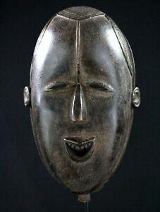 Arte Africano Arti Primo - Maschera Antropomorfa Tomba Bestia - 26 CMS