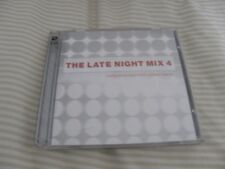 THE LATE NIGHT MIX 4 - 2 CD SET - VGC