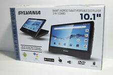 SYLVANIA SLTDVD1023 10.1 SMART TABLET DVD PLAYER ANDROID...