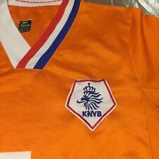 Holland Netherlands Dutch Football Jersey L #9 KNVB V.Nistelrooy