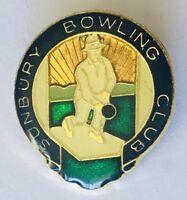 Sunbury Bowling Club Badge Pin Rare Vintage (L21)
