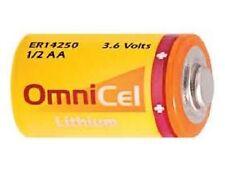 Omnicel ER14250 (LS14250) 1/2 AA 3.6 Volt Primary Lithium Battery (1200 mAh)