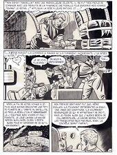 RAY COMET (FERNANDO FERNANDEZ)PRISONNIERS DE ZEPHIR PLANCHE ORIGINALE PAGE 54