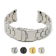 Strap for Seiko Turtle - 22mm StrapsCo Stainless Steel Metal Bracelet Watch Band