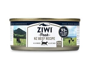 Ziwi Peak Moist Free Range Beef Cat Food 24 cans x 85g - Made in New Zealand