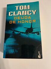 Novela en espanol. Deuda de honor de Tom Clancy. Suspenso