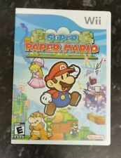 Super Paper Mario (Nintendo Wii, Instructions, U.S Version)