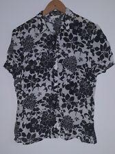 Blouse 14 M&S Black and White<MJ2417