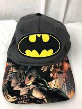 DC Comics Batman Graphic Printed  Bill Youth OSFA Adjustable Snapback Hat Cap