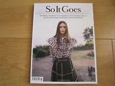 So It Goes Magazine October 2015 Stacy Martin,Behati Prinsloo,Ben Whishaw,New